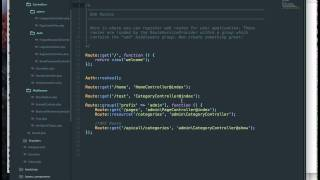 Laravel Tutorial - Adding a middleware to the admin section in Laravel 5.4