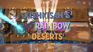 Mythgard | Blue Orange Rainbow Deserts - kishkisan