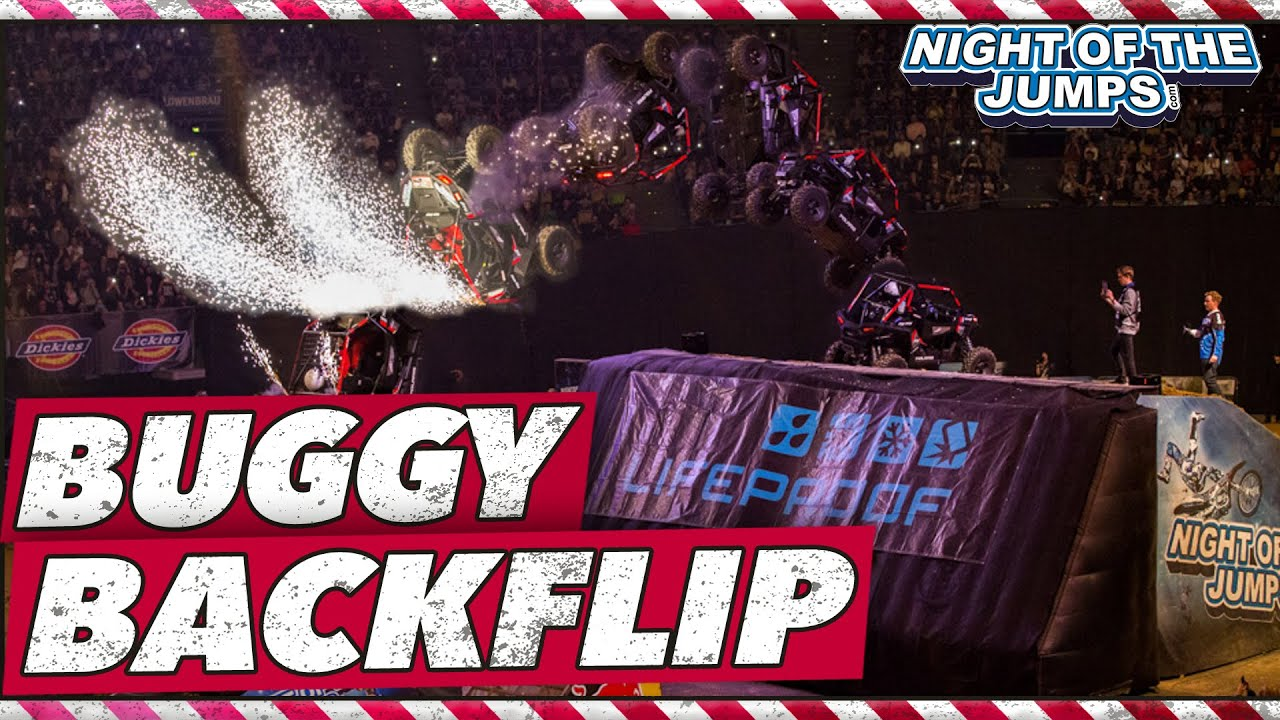 Buggy Backflip at NIGHT of the JUMPs Munich 2016