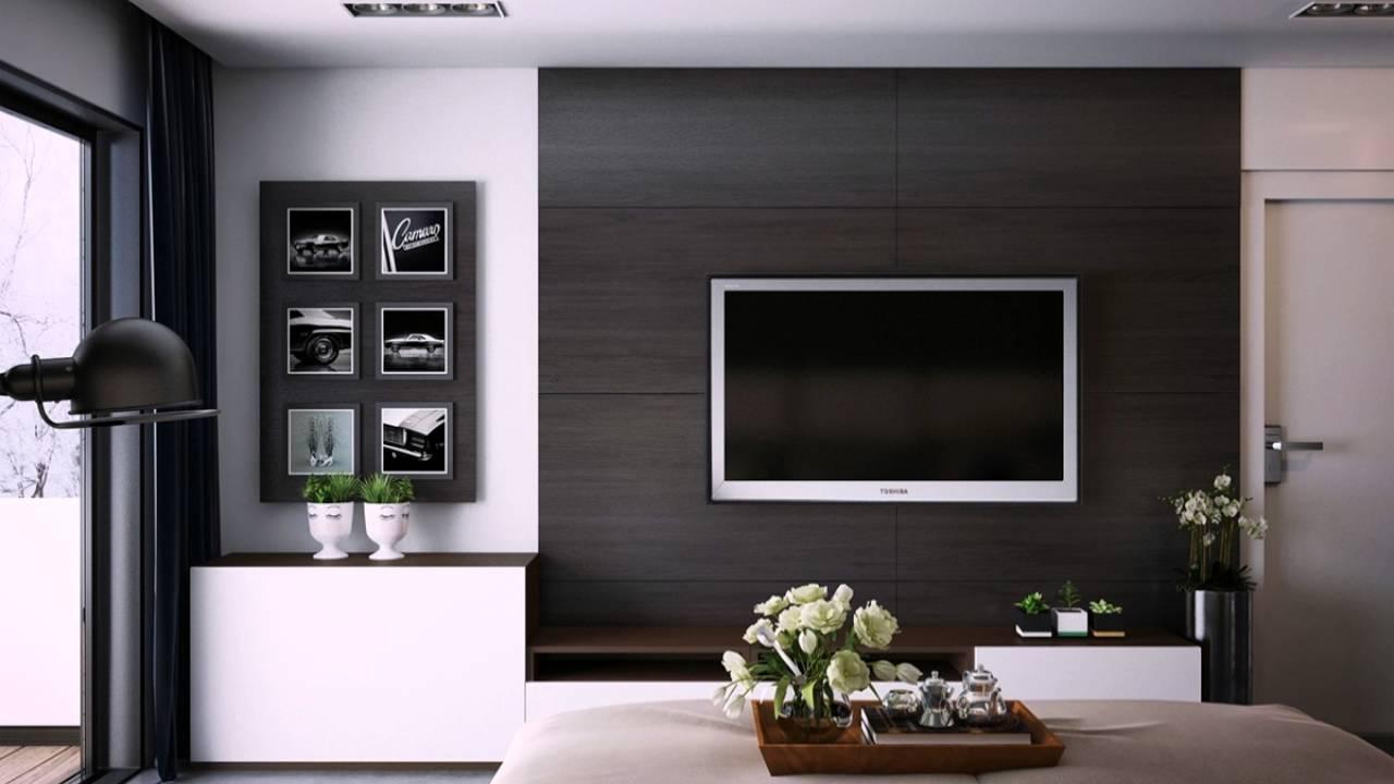Schwarz Schlafzimmer Wandpaneele - YouTube