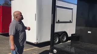 Concession Specialist introduces Blackout BBQ Trailer