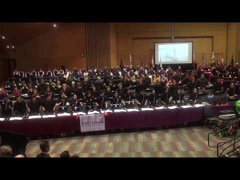 00199 IHS 2018@ Cairns - Gala Massed Ringing Concert 1