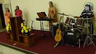 Creio (música) 58º Aniversário da Igreja Presbiteriana de Dracena - Domingo, 29/10/2017 -  Parte 8