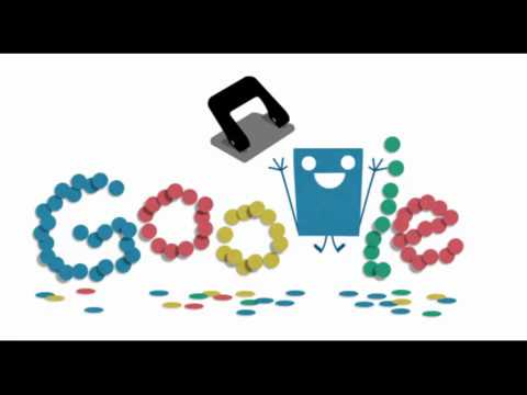 Hole punch history/131st anniversary of the hole puncher celebrated with google doodle