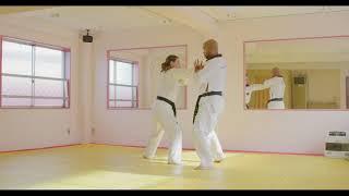 Hoshinsul #5- Both Side Wrist Grab (For Quiet Flame Taekwondo Green Belt)
