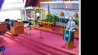 """ Living with a Promise "" Pastor Dave Shultz  - 10/14/2018"