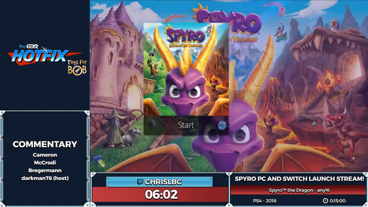 Spyro™ Reignited Trilogy Switch and PC Launch special featuring Toys For  Bob!