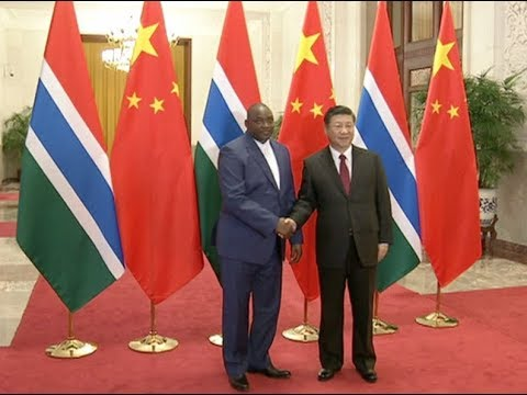 China Underscores One-China Policy in Gambian President's Visit