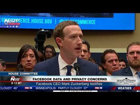 PART 1: Facebook CEO Mark Zuckerberg Testifies On Transparency and Use of Consumer Data