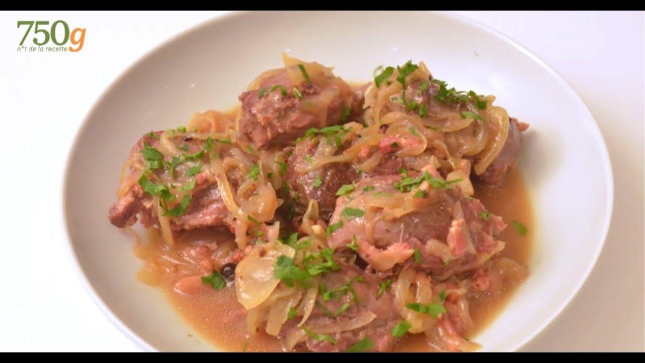 Recette de joue de porc la bi re 750 grammes youtube - Cuisiner de la joue de porc ...