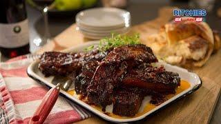 Pork Spare Ribs With Texas Bbq Sauce