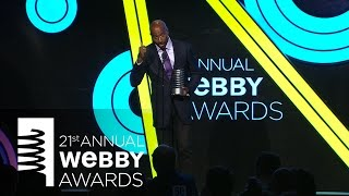 Van Jones' 5-Word Speech at the 21st Annual Webby Awards