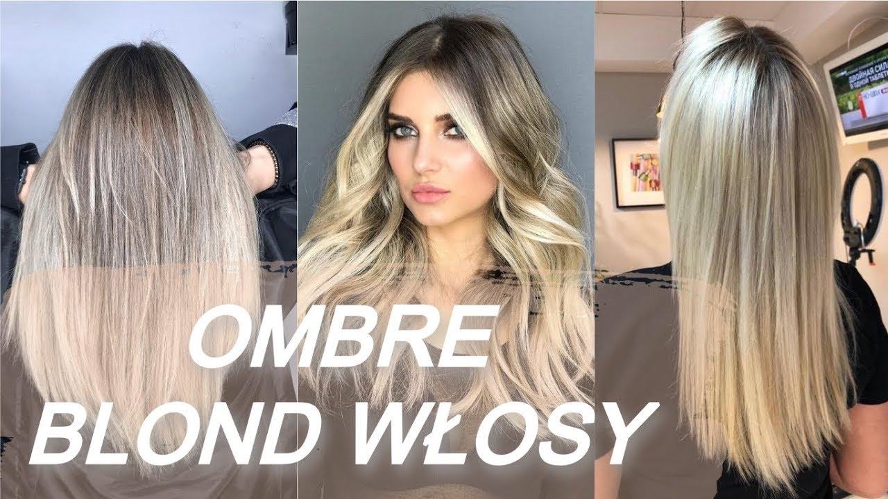 Top 20 Fryzury Blond Włosy Ombre