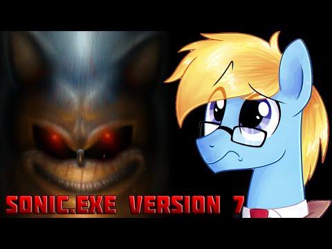 Прохождение Sonic.exe Version 7 [Возвращение красноглазого чудика ]