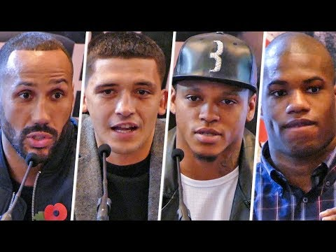 James Degale & Lee Selby   BoxNation PRESS CONFERENCE