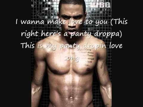 Trey Songz  Panty droppa  The complete edition  with lyrics