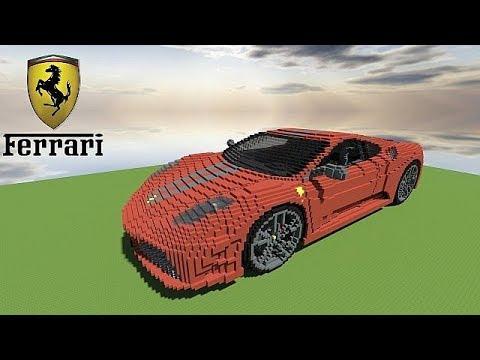 Logo Ferrari Pixel Art