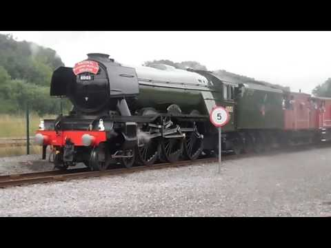Flying Scotsman and the Shildon Shed Bash 26th July 2016