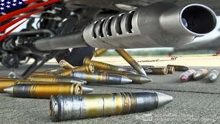 戦闘機・攻撃ヘリの強力なガトリング砲・チェーンガンの弾薬装填:A-10, F-15, F-16, F/A-18, AH-64, AH-1Z