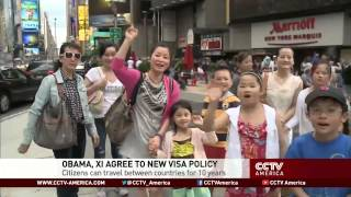 Arne Sorenson discusses the new US-China visa policy