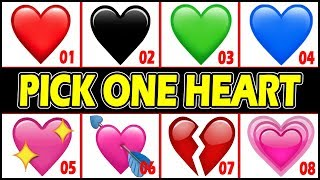 What Your HEART EMOJI Say About You ! Personality TEST