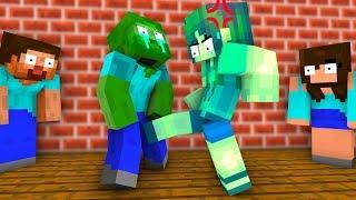 Canavar Okulu: Kızlar vs Erkekler - Full Seri | Minecraft Animasyon
