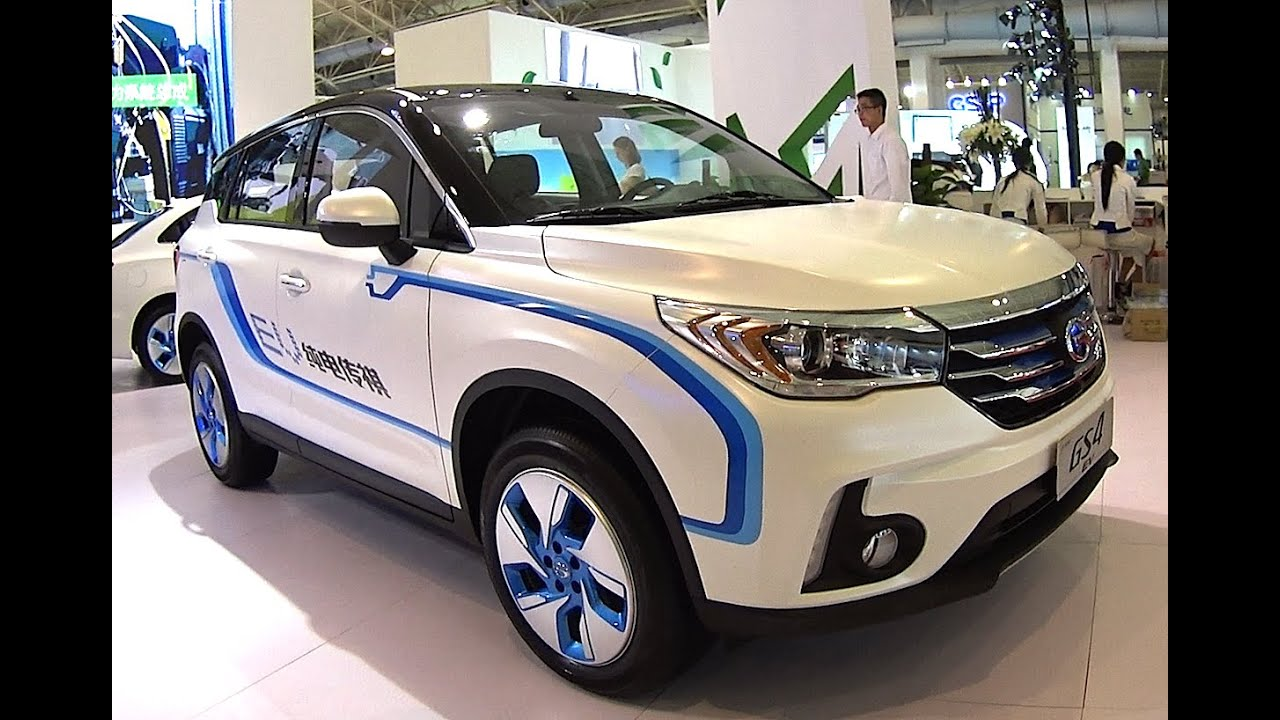 Trumpchi Gs4 Ev  A New Electric Vehicle For China Based On