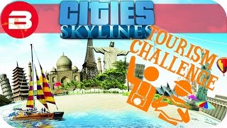 Cities Skylines Gameplay - TOURISM CHALLENGE SCENARIO (Cities: Skylines TOURISM Scenario) #1(, 2017-03-30T12:00:04.000Z)