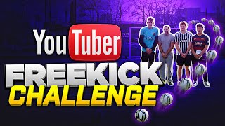 YOUTUBER FREEKICK CHALLENGE!!!