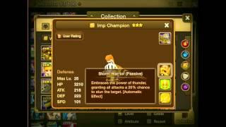 Summoners War: Imp Review - Fire/Water/Wind/Light/Dark