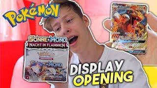 Glurak GX ✨ 12x Booster🔥 Pokemon Display Opening | deutsch
