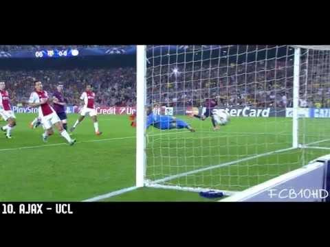 Neymar Jr - Top 10 Goals 2014/2015 | English Commentary | HD