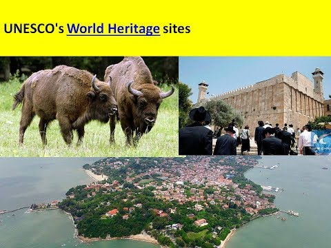 UNESCO's World Heritage sites