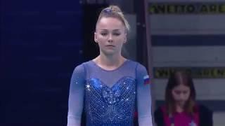 Maria Paseka VT 2019 European Championships Event Final