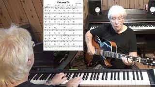 It's Always You - Jazz guitar & piano cover ( Jimmy Van Heusen )
