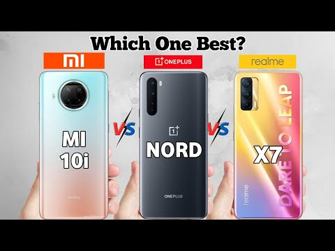 Realme X7 vs Mi 10i vs Oneplus Nord