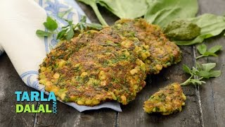 Chana Dal Pancakes ( Gluten Free Recipe) By Tarla Dalal