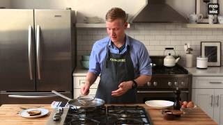 how to poach eggs in a strainer   food wine
