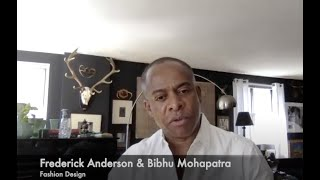 Frederick Anderson & Bibhu Mohapatra: Virtual Career Day Interview for the HS of Fashion Industries