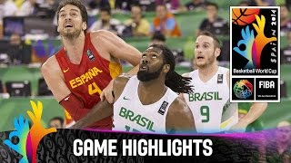Baixar - Brazil V Spain Game Highlights Group A 2014 Fiba Basketball World Cup Grátis