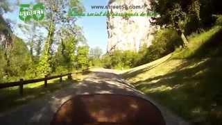 Roadbook moto Jura : Le Cirque de Baume et la Cascade des Tufs
