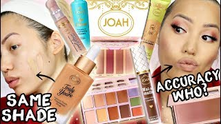 FULL FACE OF JOAH BEAUTY (CVS K-BEAUTY INSPIRED BRAND) | WACK OR WORTH IT?