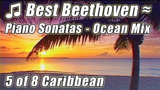 CLASSICAL MUSIC for Studying 5 Instrumental Piano Beethoven Sonata N9 N12 Pathetique Relax Study