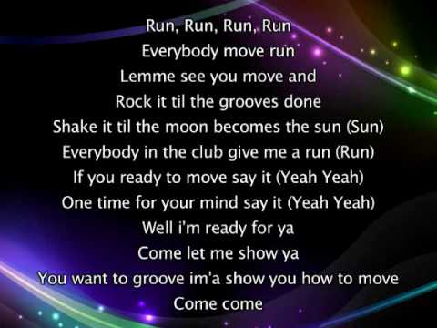 Rihanna - Pon De Replay, Lyrics In Video