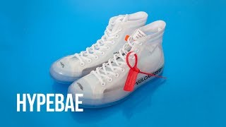 "Virgil Abloh x Converse Chuck 70 ""Ghosting"" Unboxing"