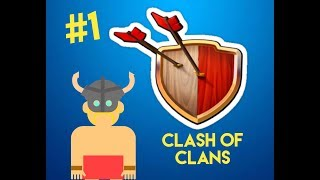MI PRIMER VIDEO DE CLASH OF CLANS!!/Rox Games
