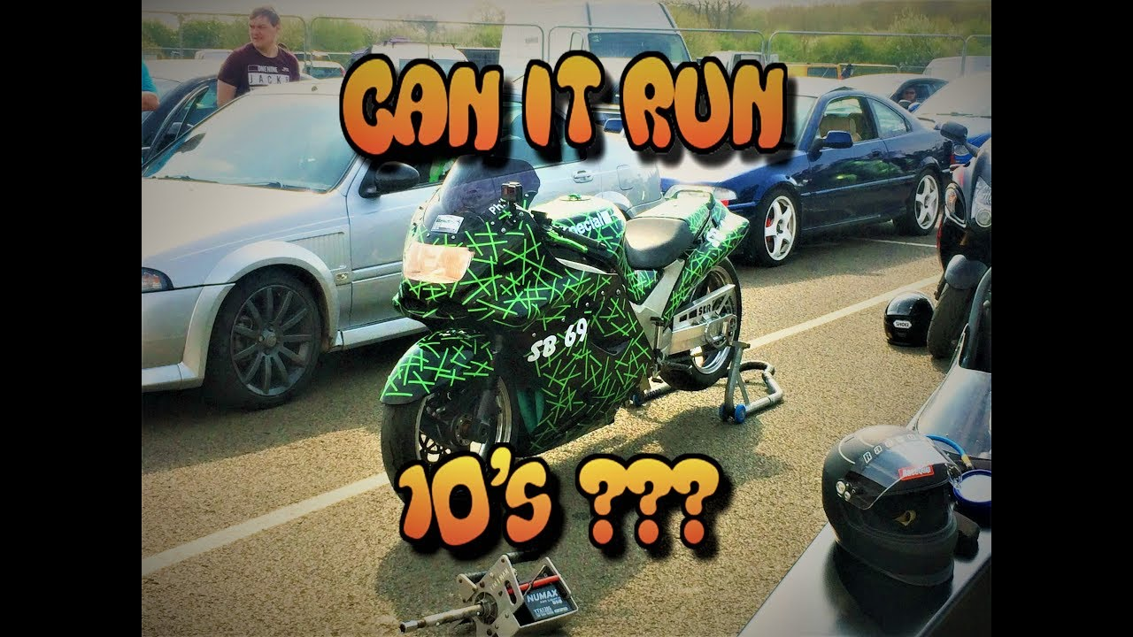 ZZR 1100 (ZX11) drag bike - In search of 10s