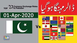 Dollar Rate Today | Forex  Exchange Rate | 01-04-2020 | Dollar To PKR | FBTV Markets