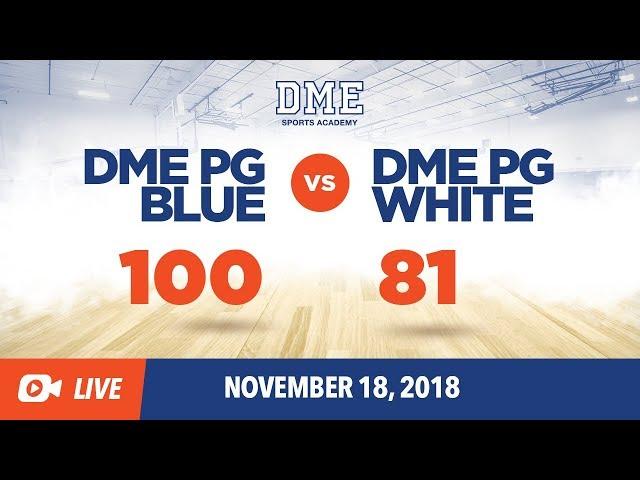 DME PG Blue vs. DME PG White