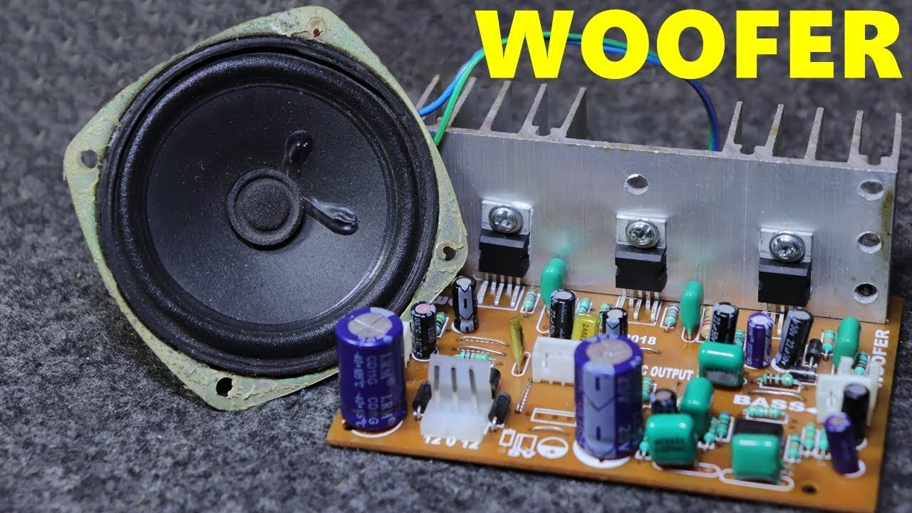 How To Make Audio Amplifier From 2 1 Home Theater Circuit